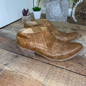 Coconuts Matisse Andy Western Ankle Boots